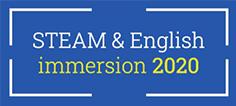 Logo STEAM & English