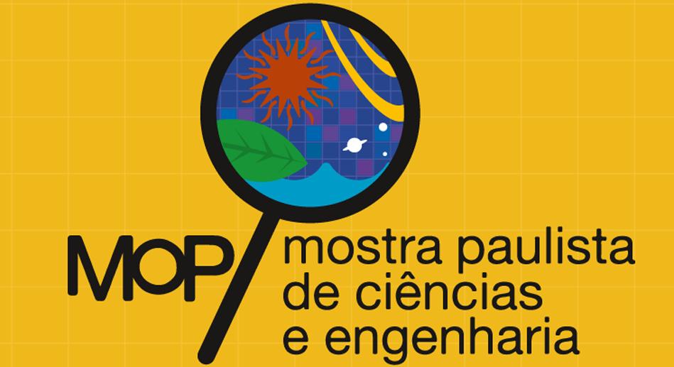 Logo MOP - Mostra Paulista de Ciências e Engenharia